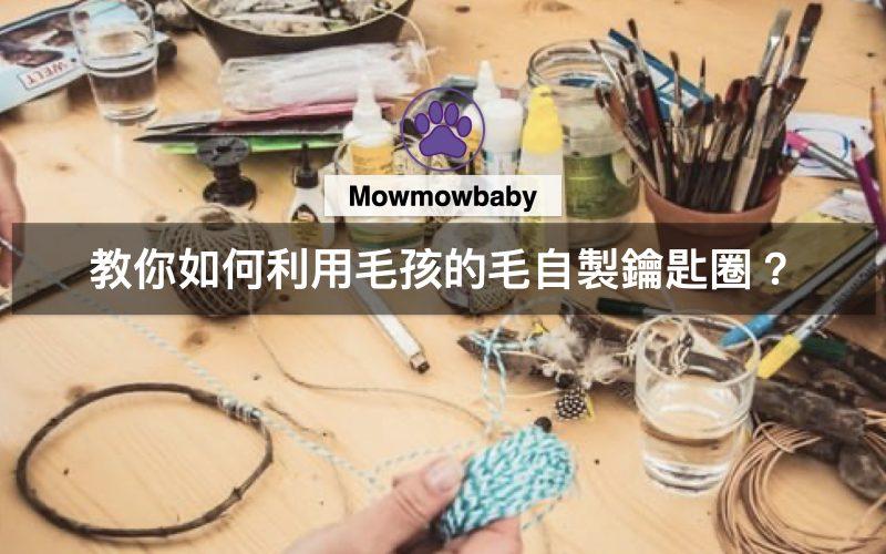 DIY小教室|教你如何利用毛孩的毛自製鑰匙圈?